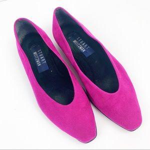 Stuart Weitzman Vintage Pink Flats